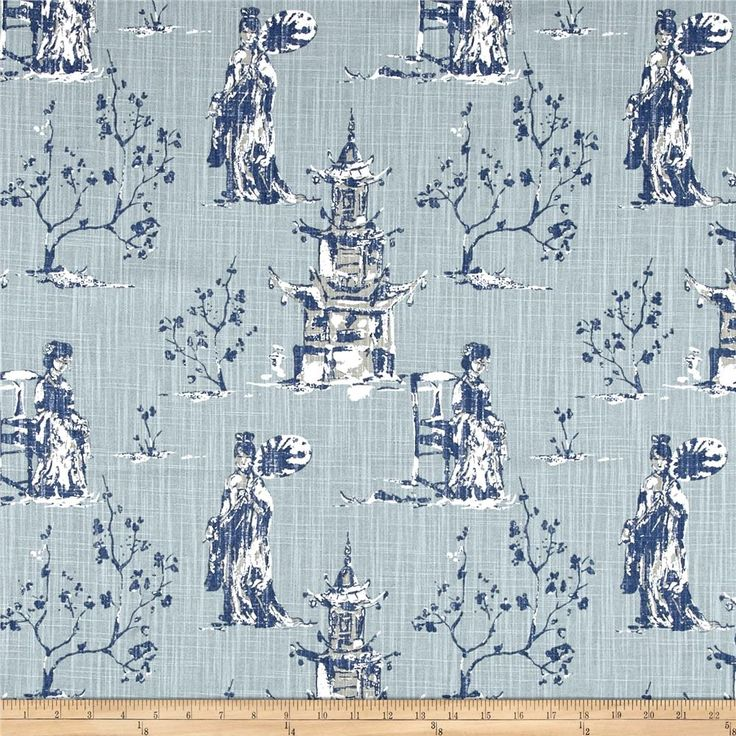 Premier Prints Asian Toile Regal Navy Slub from @fabricdotcom  Screen printed on cotton slub duck (slub cloth has a linen appearance), this versatile medium weight fabric is perfect for window accents (draperies, valances, curtains and swags), accent pillows, duvet covers, upholstery and other home decor accents. Create handbags, tote bags, aprons and more. Colors include white, blue, taupe and brown.