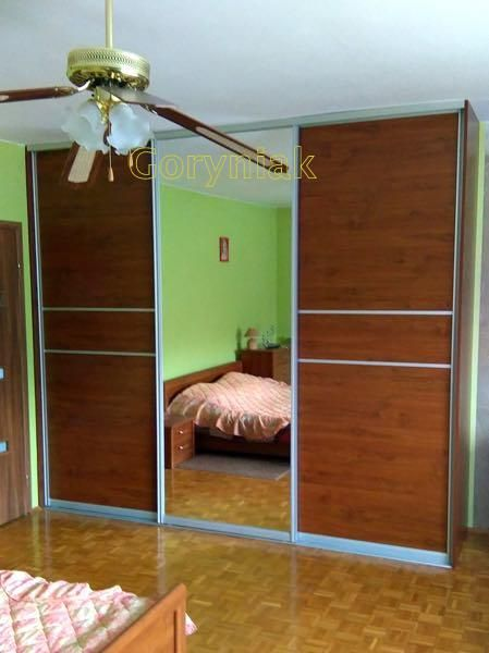 Klasyczna szafa sypialniana http://Goryniak.pl  Sliding doors aluminium