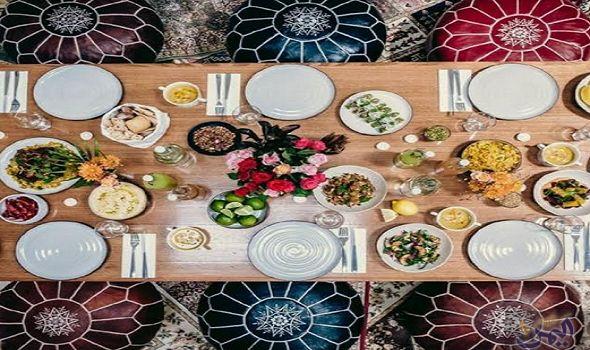 خطوات بسيطة لتزيين مائدة الإفطار في شهر رمضان المبارك Table Settings Table Deco