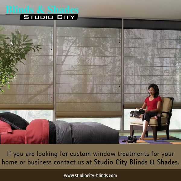 If you are looking for custom #WindowTreatments for your home or business contact us at Studio City Blinds & Shades. http://www.studiocity-blinds.com/ #BlindsShades