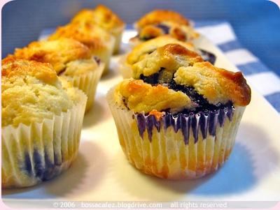 Donna Hay Mini Muffins ai mirtilli