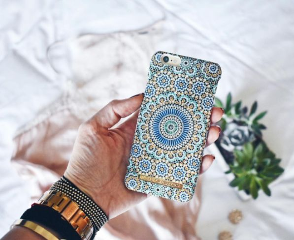 Moroccan Zellige by lovely @andyandra - Fashion case phone cases iphone inspiration iDeal of Sweden #Mosaic #blue #fashion #inspo #iphone #pattern #tile #summer #Marrakech