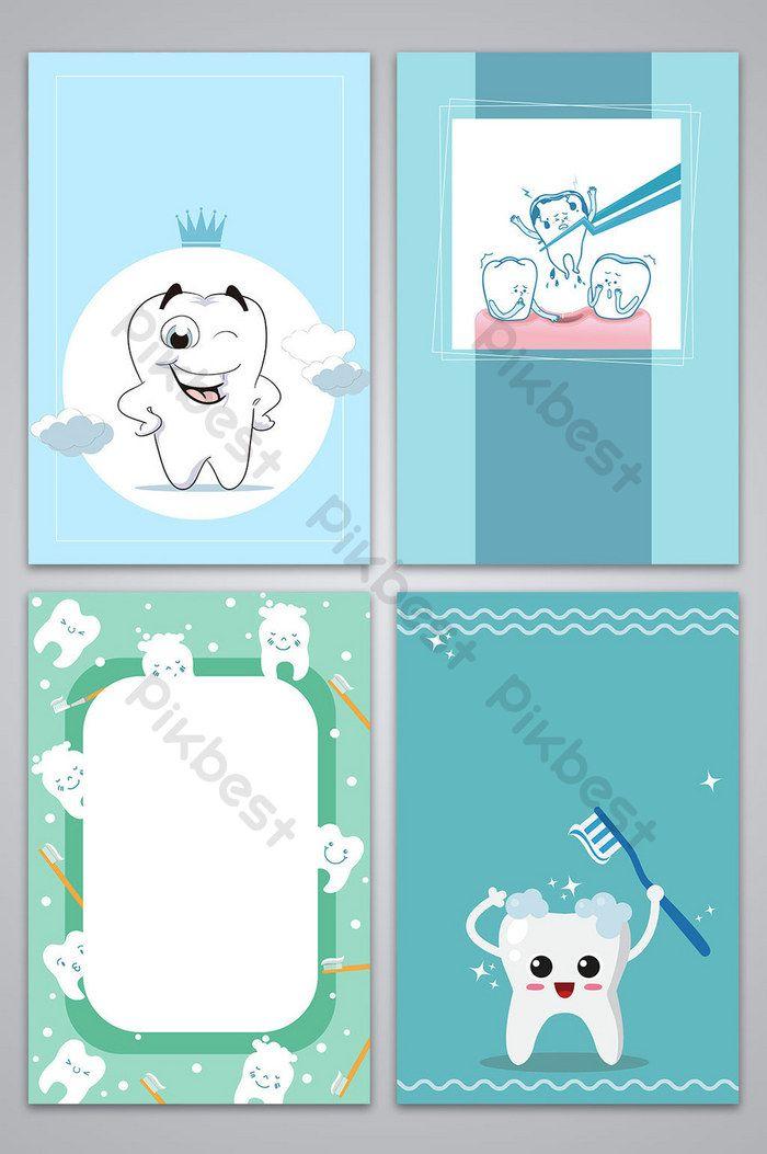 Vector Hand Drawn Love Tooth Day Dental Health Poster Background Image Backgrounds Ai Free Download Pikbest Menggambar Tangan Kesehatan Gigi Latar Belakang