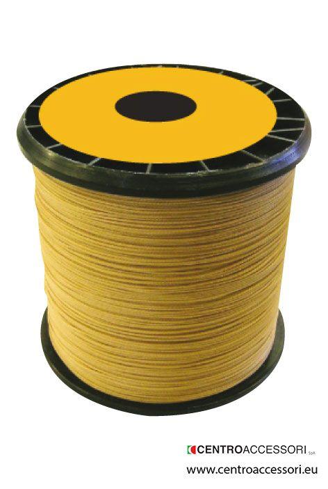 Treccia semicerata combi. Semiwaxed braided yarn combi. #CentroAccessori