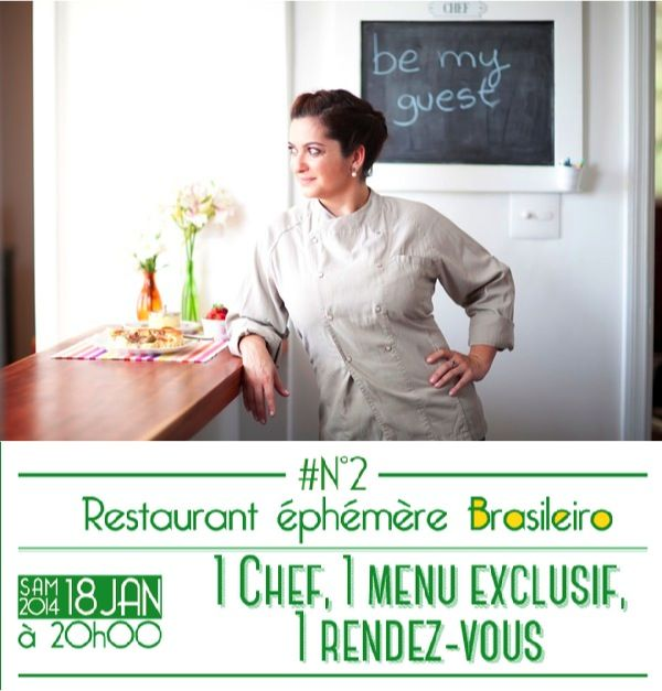 #LastMinute offer: #Ephemeral evening with a #Brazilian #chef for 40€!  Brazilian Chef, #AlineTavares, is stopping over at The Appartelier, to make you #discover a typical #menu of her country, tomorrow night!  A #caipirinha on an air of #samba, it's just the beginning of the #trip. Still in the original part of the #Appartelier, open #kitchen and a large #convivial table.  To register: www.meetmeout.fr   #InternationalsinParis #ExpatsinParis #Expats #Paris #Events #Culinary #Cuisine…