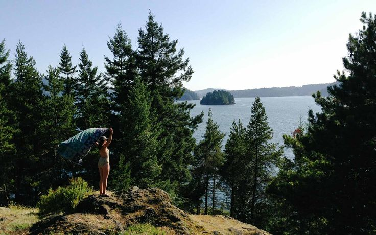 Exploring Twin Island, Indian Arm