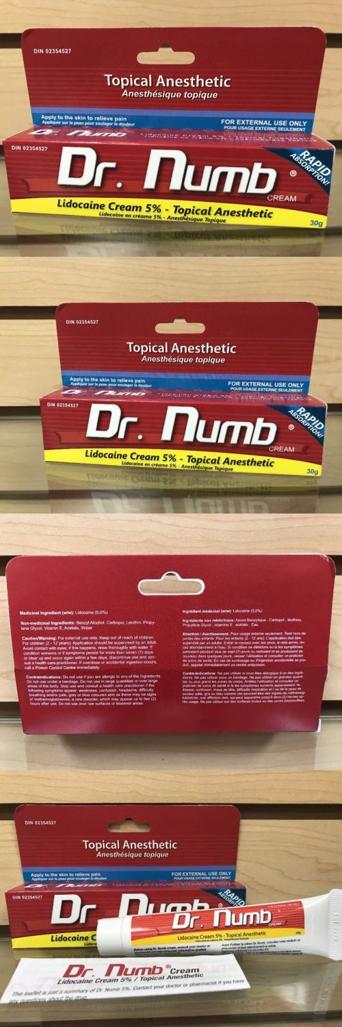 Tattoo Supplies: Dr. Numb Topical Anesthetic 5% Skin Numb Cream Waxing Microblading Tattoo Pain -> BUY IT NOW ONLY: $38.88 on eBay!