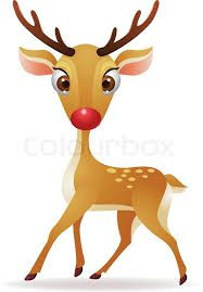 Image result for rudolph the red nosed reindeer art paintings