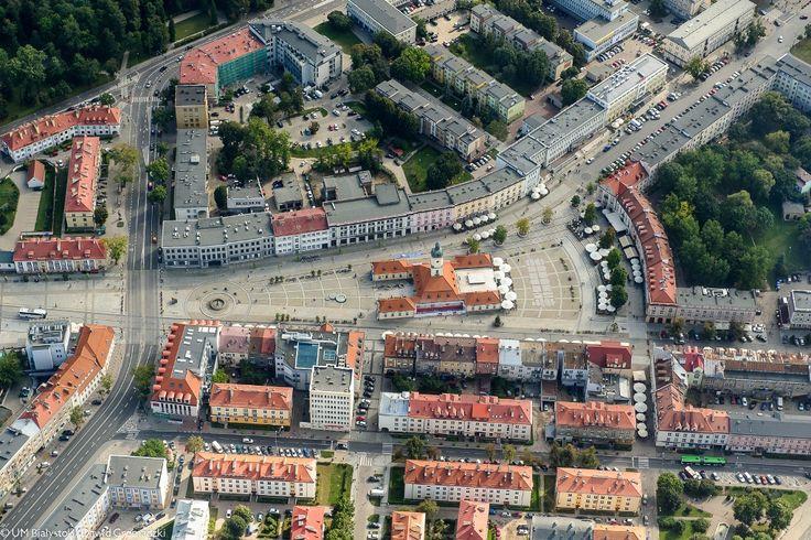 Rynek Kościuszki w Białymstoku #Białystok #Rynek #Rynek Kościuszki #Centrum #Bialystok /fot. Dawid Gromadzki