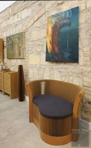 karton cardboard furniture. creative cardboard furniture by karton design
