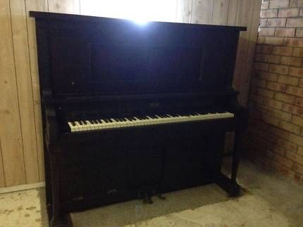 Iron Framed Upright Piano/Converted Pianola - PURCELL of Chicago | Keyboards & Pianos | Gumtree Australia Logan Area - Logan Central | 1107209989