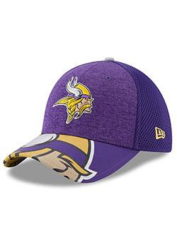 Men s Minnesota Vikings Purple 2017 NFL Draft On Stage Flex Fit Hat by New  Era Pro Image Sports at Mall of America Material  Polyester Mid Crown 48d8bfdf6