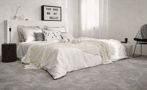 Vloerbedekking in de slaapkamer.