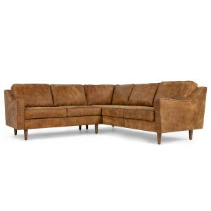 Made Corner Sofa Outback Tan Premium Leather Brown Express Delivery Dallas Sofas Collection From Com Pinterest And