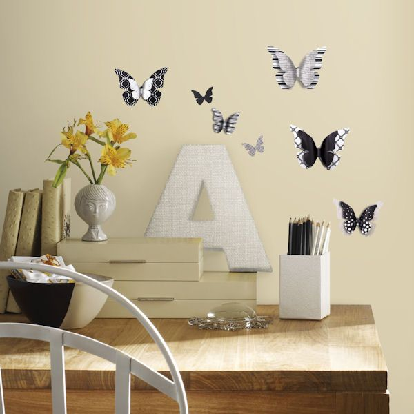 Butterflies Peel And Stick Wall Decals   Wall Sticker Outlet Part 80