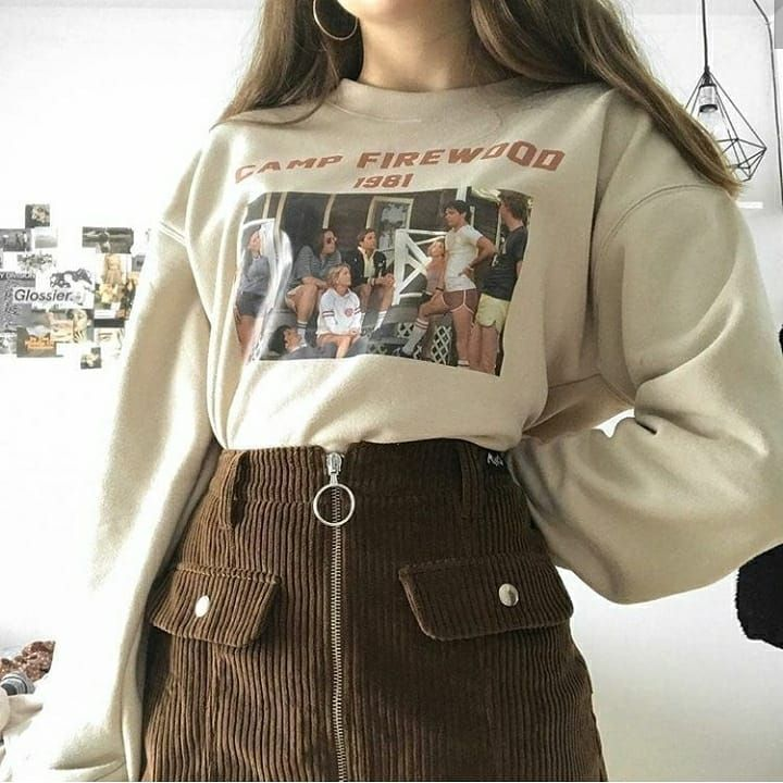 Grunge Tumblr Retro Outfits Aesthetic Clothes Fashion Inspo Outfits