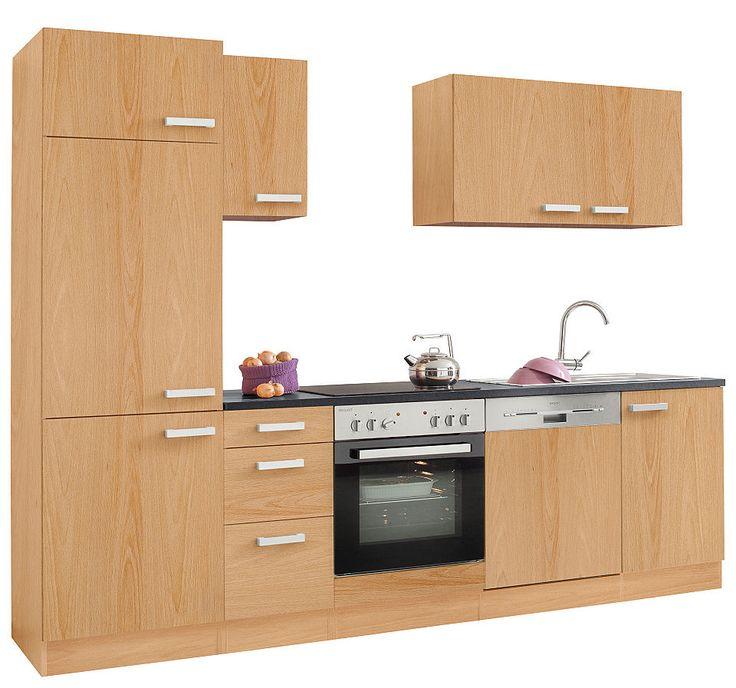 Küchenzeile ohne E-Geräte, Optifit, »Odense«, Breite 270 cm Jetzt - küchenblock ohne e geräte