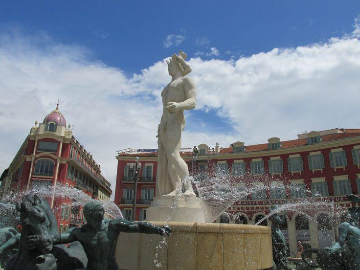 Place Masséna in Nice, PACA