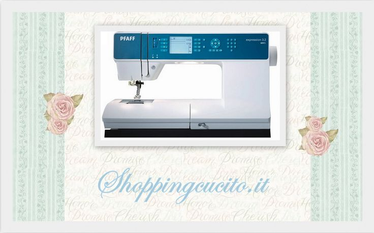 Pfaff expression 3.2 only on shoppingcucito.it