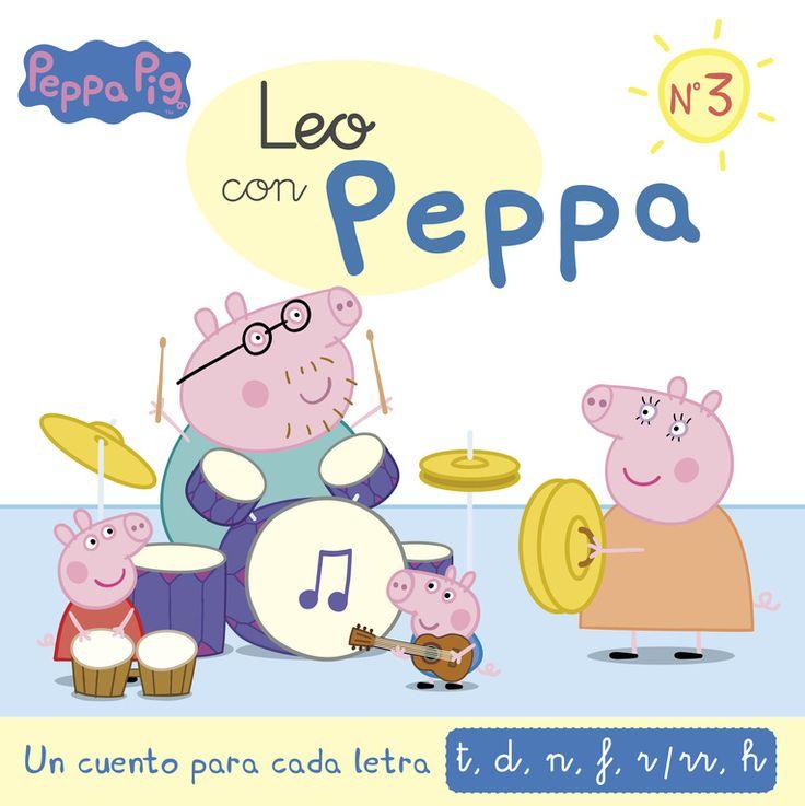un cuento para cada letra: t, d, n, f, r/rr, h (leo con peppa 3)-9788437201139