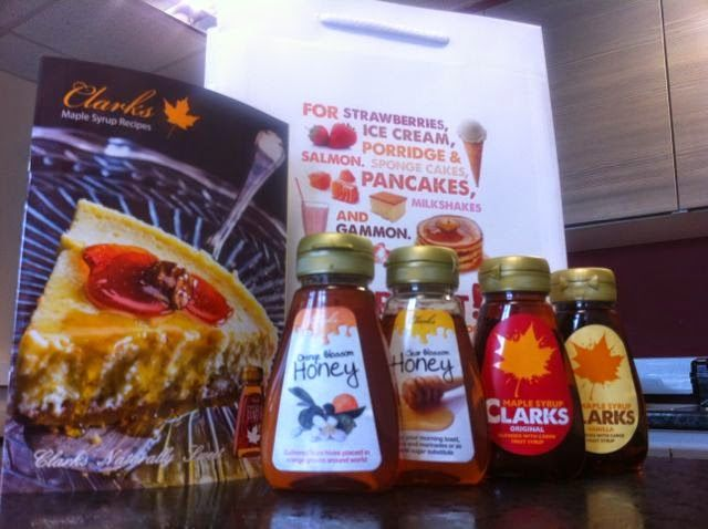 Foodstuff Finds: WIN: Clarks Maple Syrup and Clarks Honey