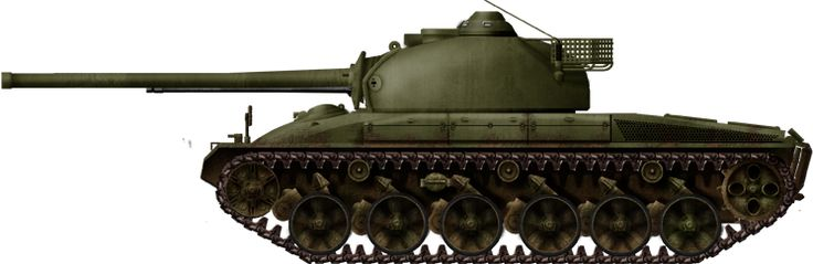 Panzer 58, second prototype