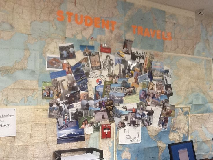 Geography Classroom Decor : My high school classroom decor student travels world