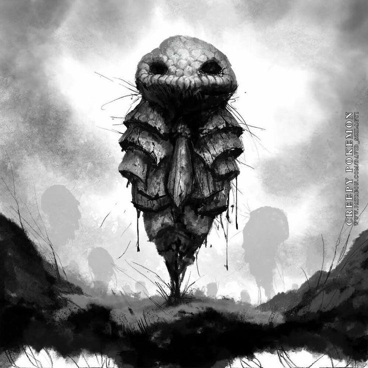 Image result for disturbing pikachu fan art