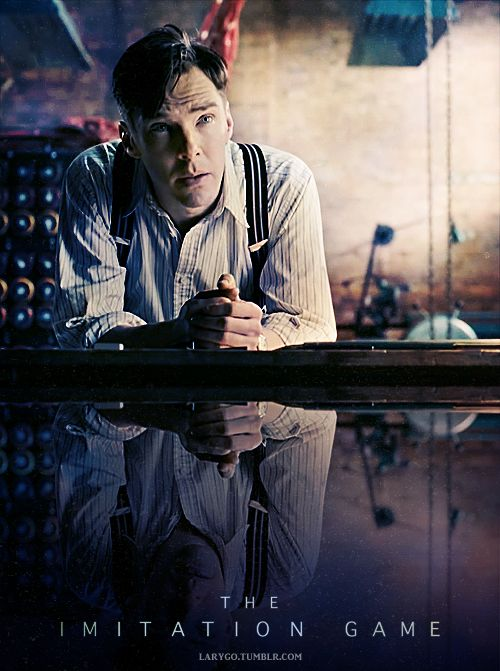 THE IMITATION GAME. WWII movie. Opening November 21,2014. Benedict Cumberbatch and Keira Knightley. Expecting some OSCAR nominations.