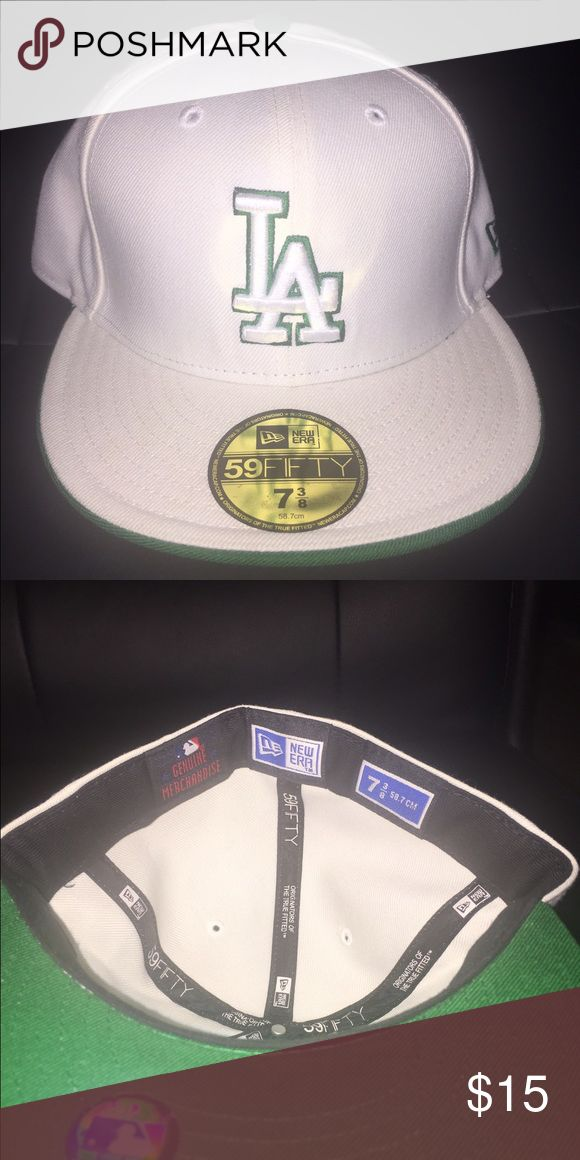New era fitted baseball cap Size 7 3/8 flat bill fitted new era baseball cap New Era Accessories Hats