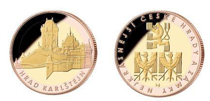 Národní Pokladnice chystá novou kolekci pamětních medailí s motivy nejkrásnějších českých hradů a zámků.