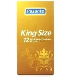 Lubricated King Size Condoms from Pasante