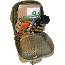 TACOPS® Basic Soldier Medical Kit - prodives individual trauma support
