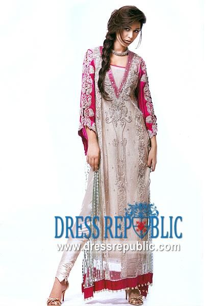 Beige Virginia, Product code: DR5127, by www.dressrepublic.com - Keywords: Jalabiya Collection 2011, Arab Women Dresses, Arab Women Jalabiya, Islamic Jalabiya Online Shop