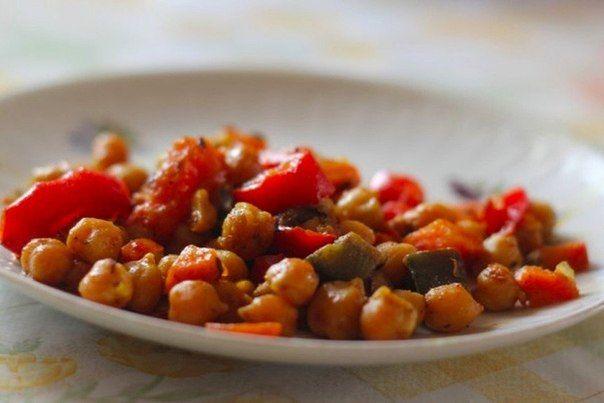 Турецкий горошек с овощами