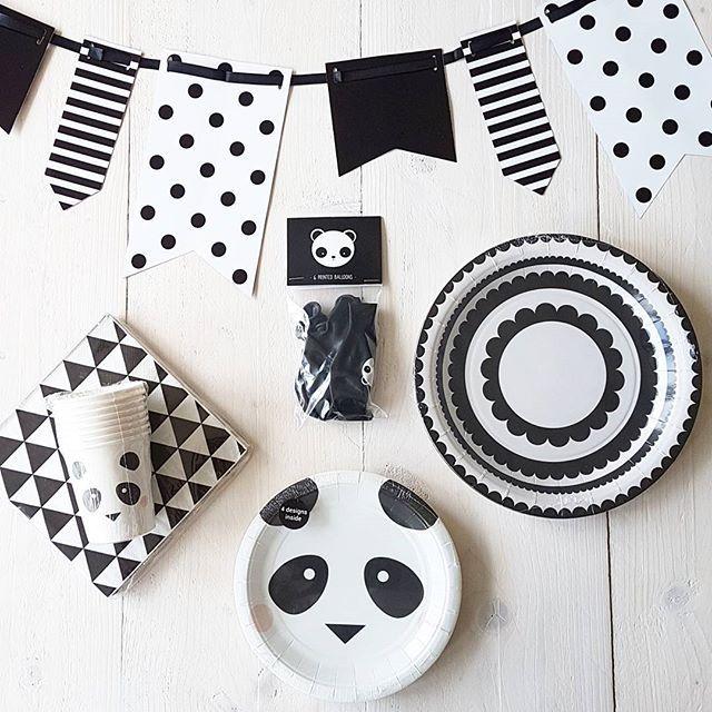 *Panda Party* Confetti & Balloons Trendy feestversiering en hippe feestartikelen. www.confettiandballoons.nl