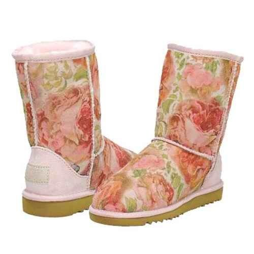 Floral Uggs | 20 Pairs Of Uggs That Will Destroy Your Faith In Humanity