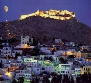 Leros Castle, Leros, Greece