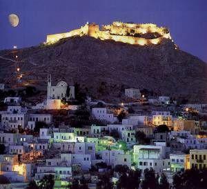 Leros Castle, Leros, Greece