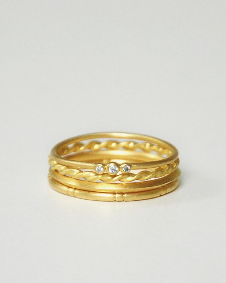 STACK YOUR GOLD RINGS
