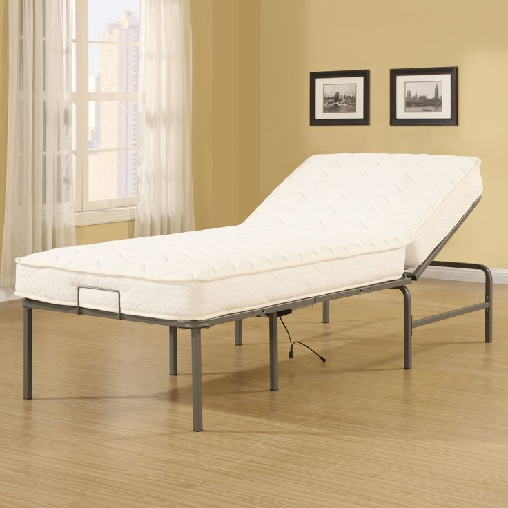furniture bedroom extra long twin size adjustable platform bed with gray polished wrought iron frame extra - Extra Long Twin Bed Frame