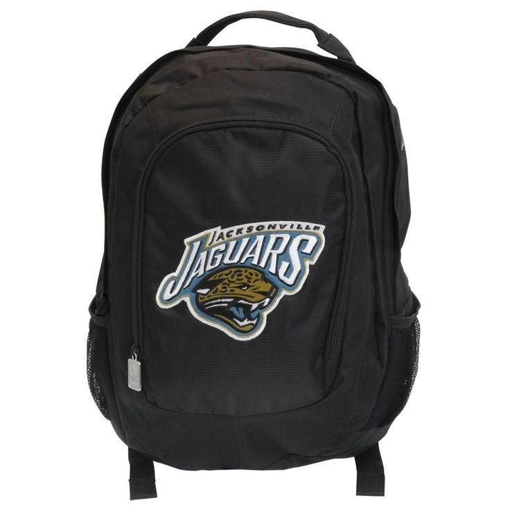 Jacksonville Jaguars - Logo Emb Black Cordura Backpack