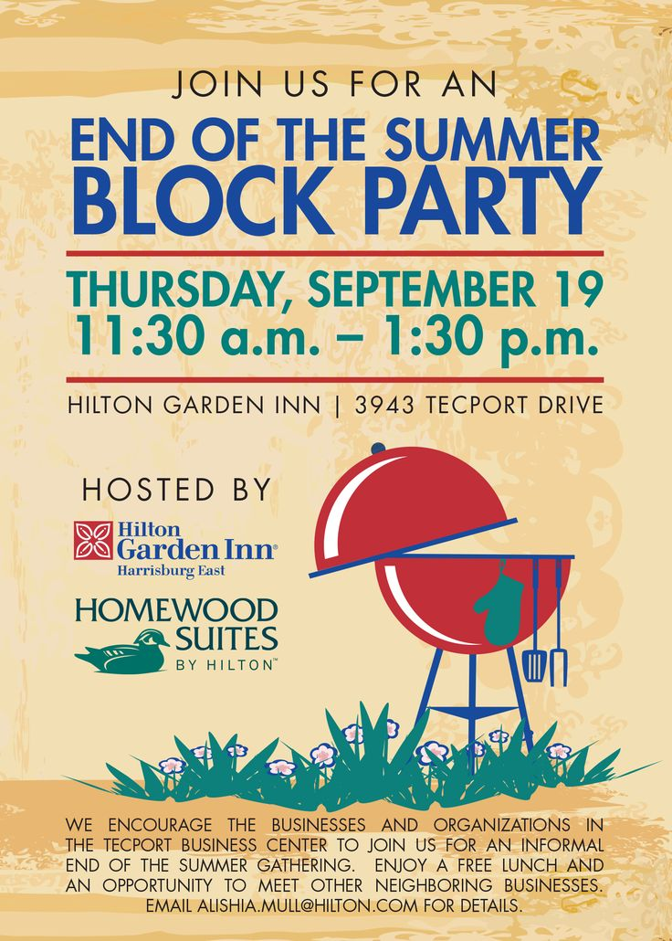 Best 25 Block party invites ideas – Block Party Invites