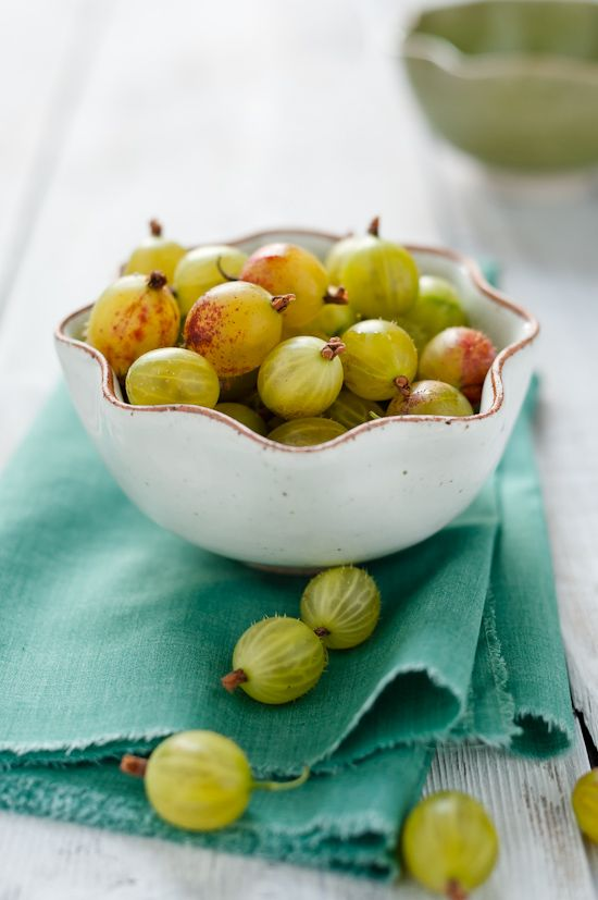 Gooseberries...picked these so Grandad could have his favorite ... gooseberry pie!