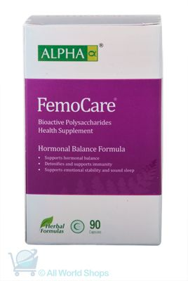 Femo Care - Natural Menopause Support - Alpha - 90 Capsules   Shop New Zealand NZ$100