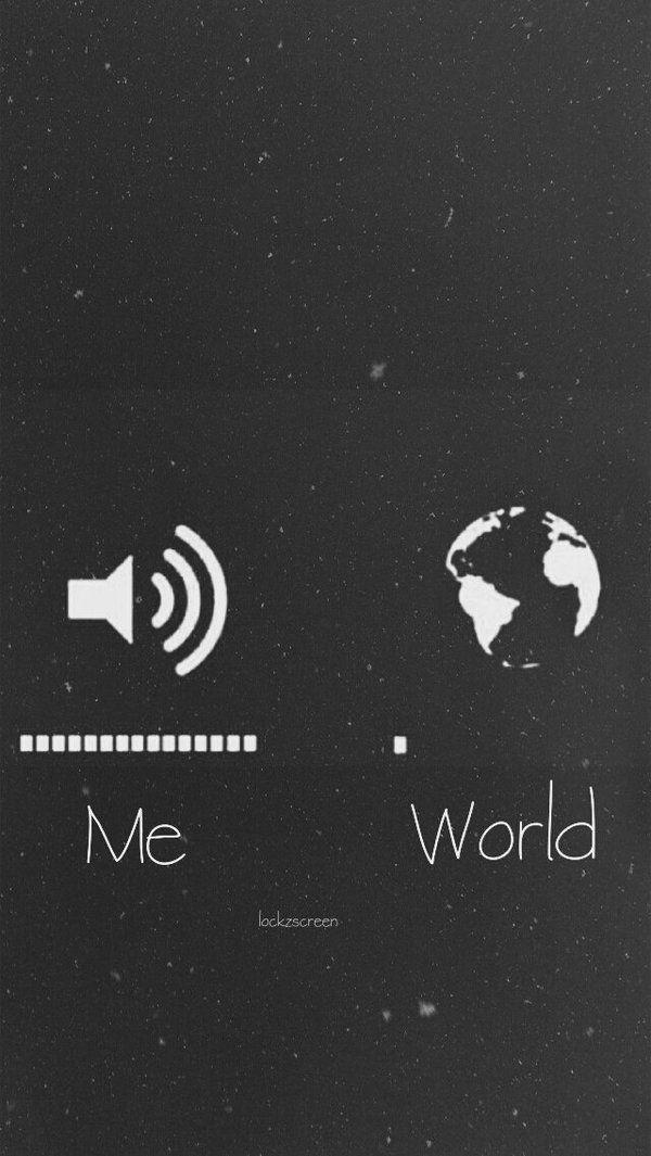 ✨ Wallpaper Lockscreen Me and World