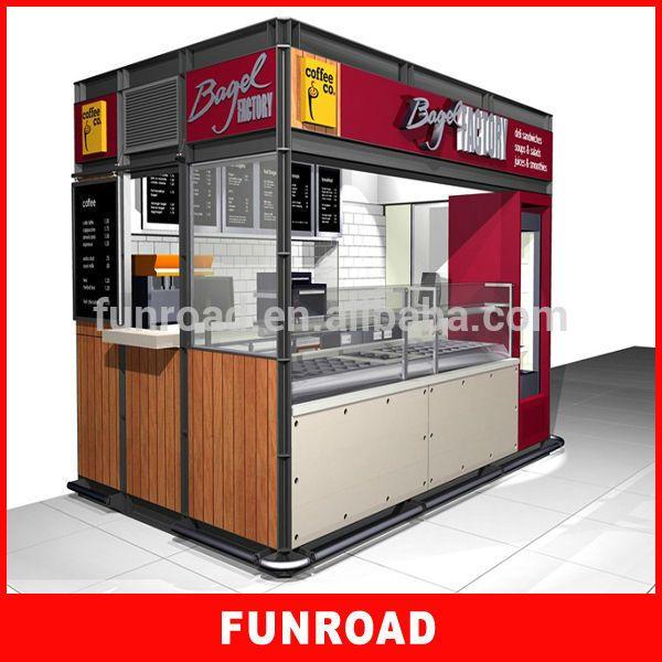 Unique Design Food Mall Kiosk Ideas