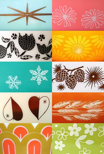 Amazing vintage Pyrex pattern guide | pyrexlove.com  I need the starburst, snow flakes and heart ones!!!