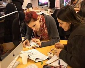 """Talk: Emilie Giles """"MzTEK and the Chi-TEK Project – Women, Art and Technology"""" event at Brighton Digital Festival,England"""