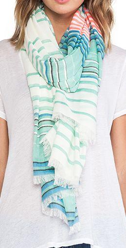 aqua striped scarf http://rstyle.me/n/peurepdpe